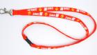 Polyester Schlüsselband Schlauchband mit gedrucktem Logo