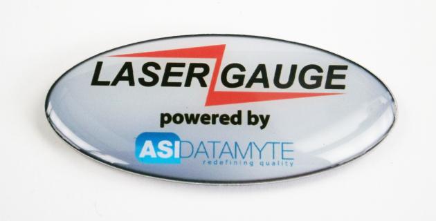 Pin-Magnet mit Offsetdruck