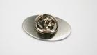 Pin aus Stahl mit Butterflyverschluss