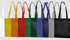 Vliestaschen mit langen Henkeln