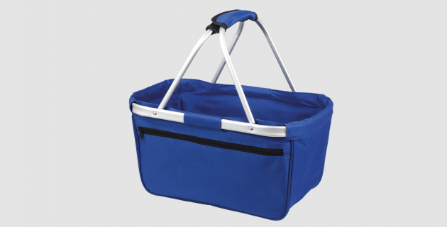 Megashopper Einkaufskorb blau