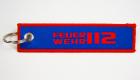 Kurzes Schlüsselband mit Logo Webung