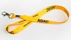 Satinlanyard Schlüsselband aus Satin ADAC