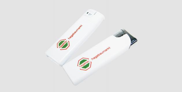 Elektronik - Markenfeuerzeuge mit Logo-Druck