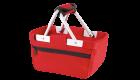 Minishopper Einkaufskorb rot