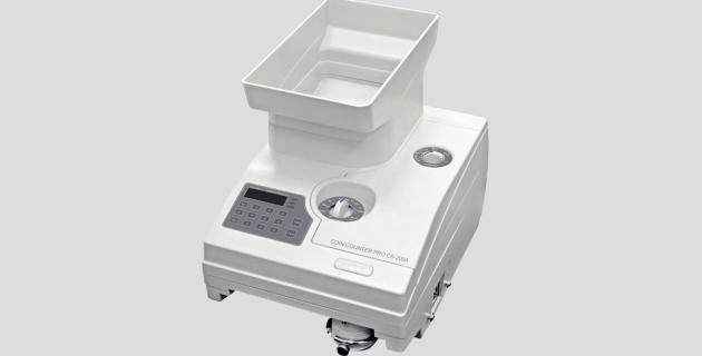 Professionelle Münz- und Chip-Zählmaschine